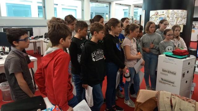 Scolaras e scolars da Laax