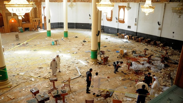 devastaziuns en ina moschea
