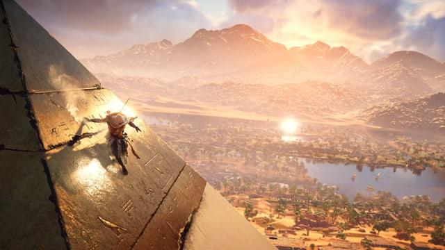 Assassins Creed spielt dieses Mal in Ägypten.
