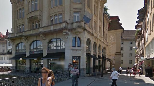 Filiale von Companys in der Luzerner Altstadt.