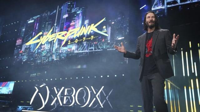 Keanu Reeves sorgte für die Überraschung an der E3 2019.