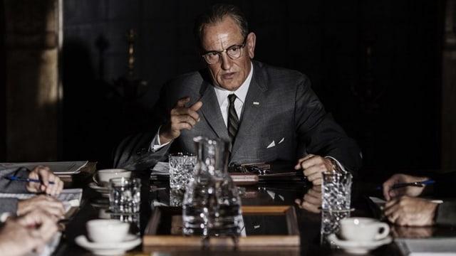 Woody Harrelson als Lyndon B. Johnson