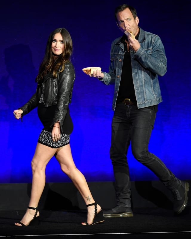 Megan Fox mit Babybauch an der CinemaCon.