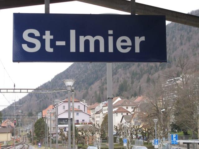 Am Rand des Kantons Bern: In St. Imier ist wenig Wahl-Euphorie zu spüren.