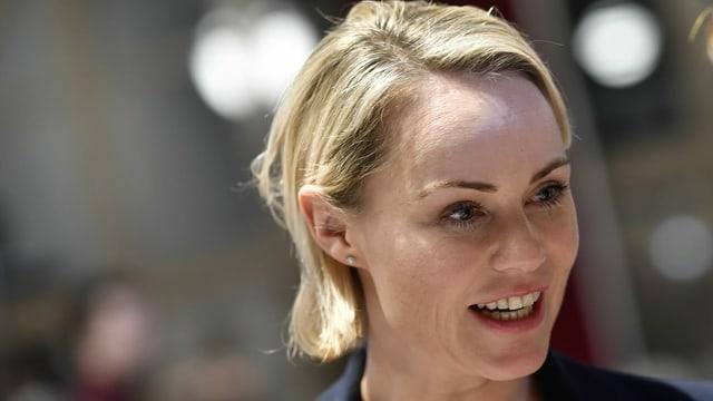 Die Zürcher Regierungsrätin Natalie Rickli