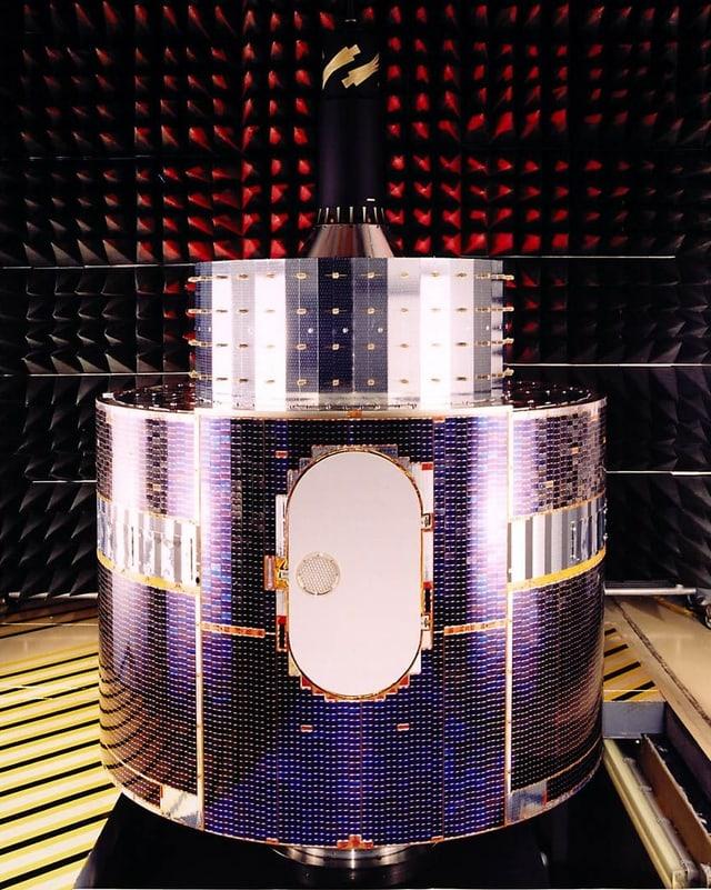 Bild vom Satelliten.