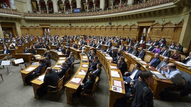 L'Assamblea federala elegia oz ina nova regenza svizra.