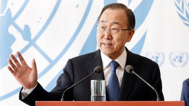 purtret da Ban Ki Moon