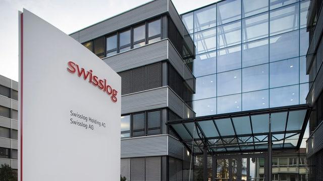 Hauptsitz der Swissloggruppe in Buchs AG.