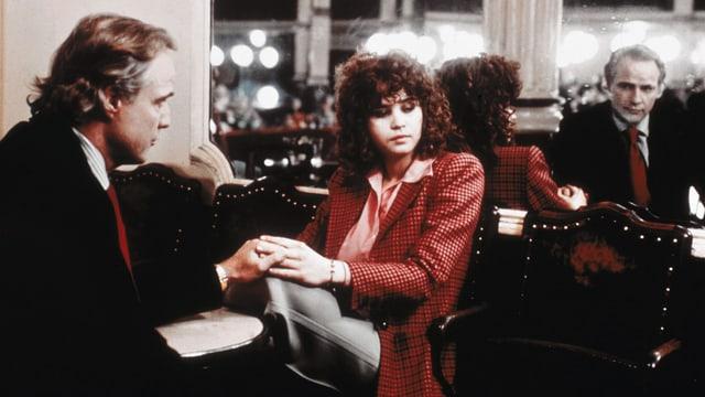 Marlon Brando als Paul, Maria Schneider als Jeanne.