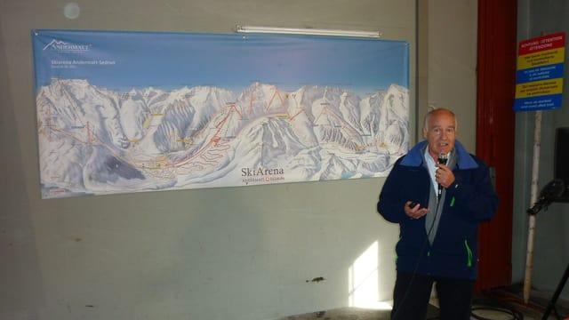 Peter Furger, il manader da project tar l'ASS.
