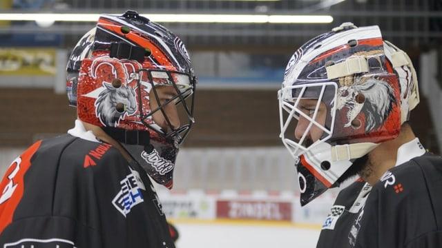 Hockey: Dario Caduff il goli ch'è er designer da mascras