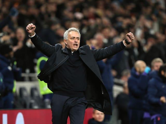 Tottenham-Coach José Mourinho.