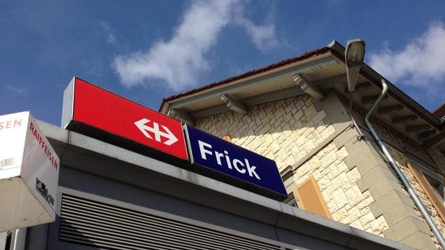 Bild vom Bahnhof Frick.