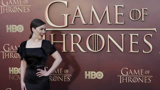 Da hat Emilia Clarke gut Lachen. Sie ist als beste Nebendarstellerin in einem Drama nominiert.
