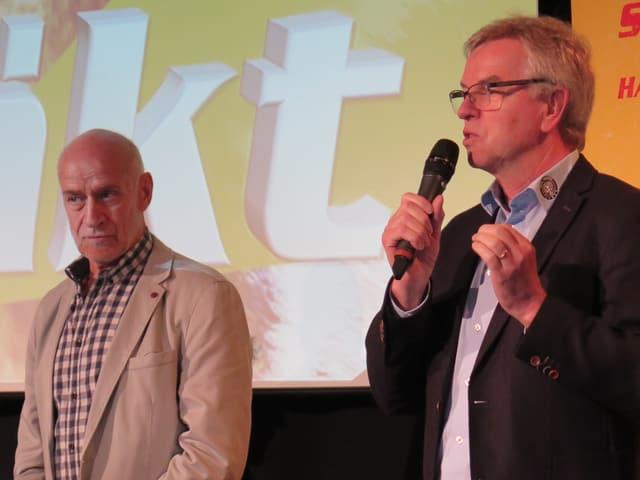 Peter Jakob und Simon Schenk.