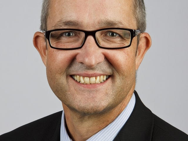 Porträt von Thomas Weber.