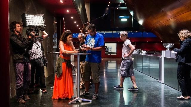 Video «Making of Tatort - Die Musik stirbt zuletzt» abspielen