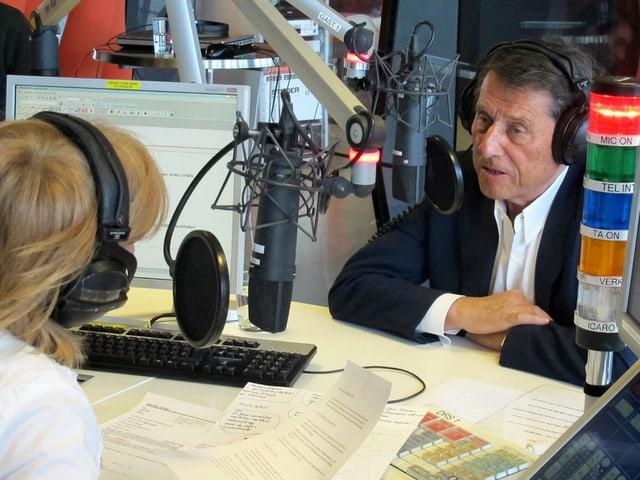 Udo Jürgens im Gespräch mit Marietta Tomaschett