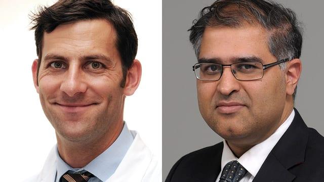 Portraitaufnahme der beiden Chat-Experten
