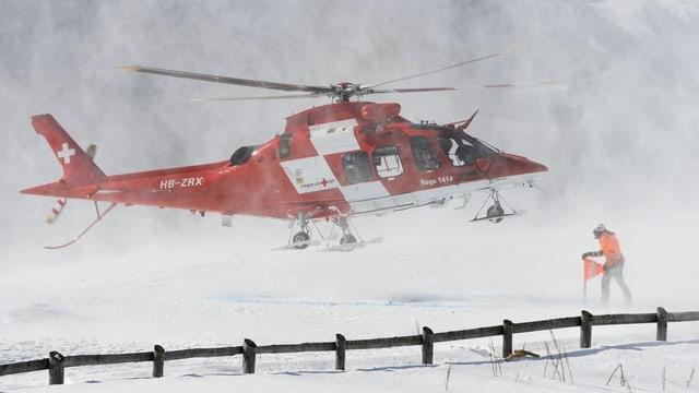 Helicopter en in nivel da naiv.