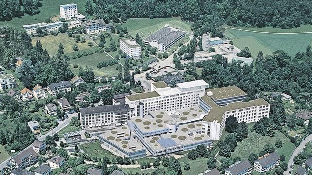 Das Spitalzentrum Biel, wie es 2022 aussehen soll.