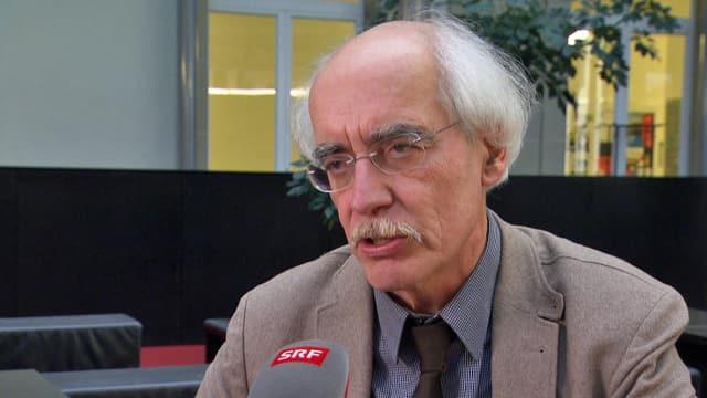 Porträt Reinhard Schulze.