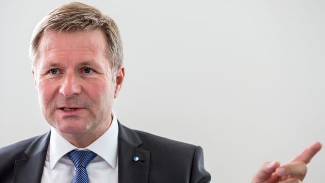 Finanzdirektor Marcel Schwerzmann im Portrait