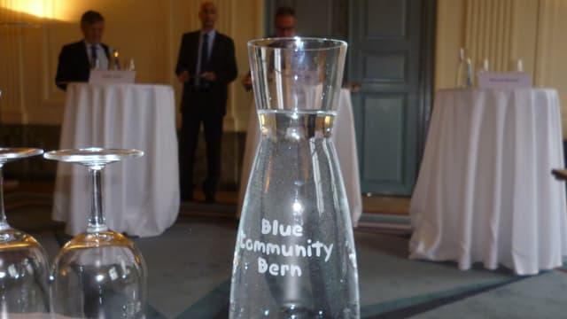Predige Wasser und trinke es auch - Trinkwasser-Label für die Stadt Bern