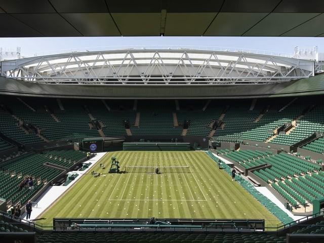 Der Centre Court im All England Club.