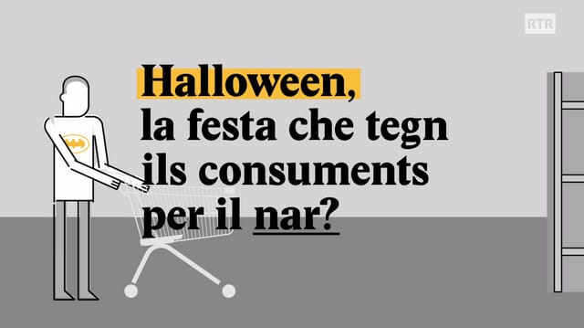 Laschar ir video «Explainer: Halloween, la festa che tegn ils consuments per il nar?»