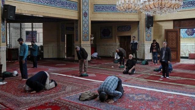 Moschee in Teheran (Archivbild von März 2020)