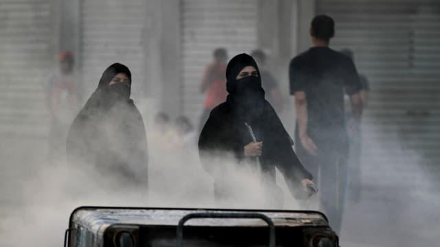 Ausschreitungen in Bahrain