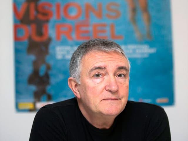 Der italienische Filmkritiker Luciano Barisone leitet heute das Festival.