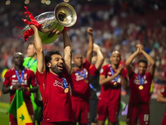 Mohamed Salah und der FC Liverpool gewannen 2019 die Champions League.
