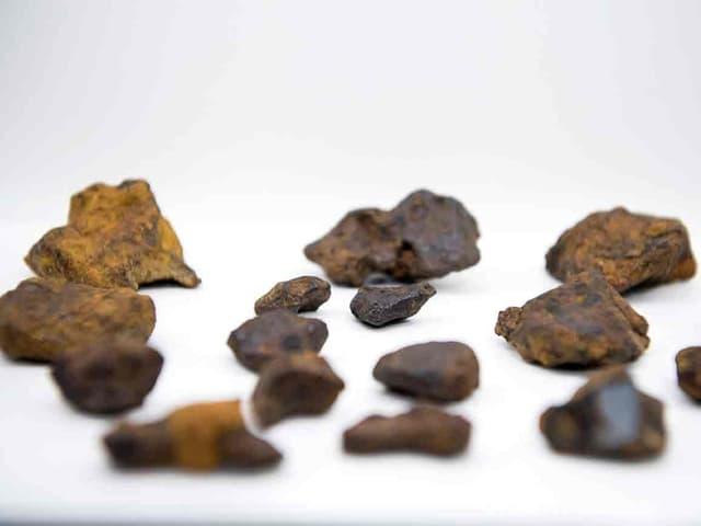Meteoriten-Stücke