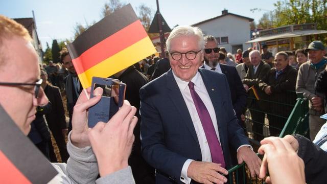 Steinmeier in Rheinland-Pfalz, 22.10.2018