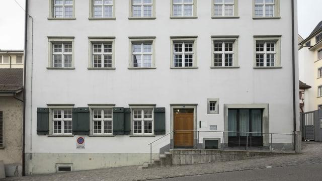 Der Haupteingang des Schaffhauser Obergerichts.