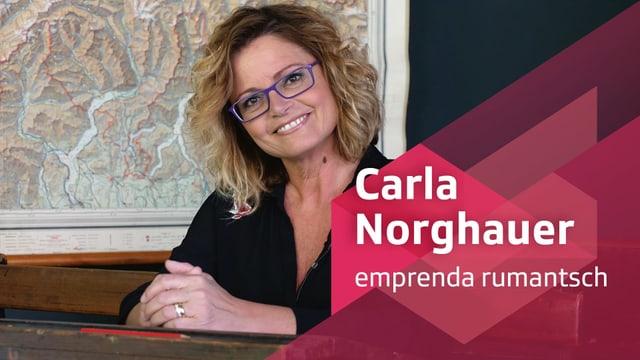 Purtret da Carla Norghauer.