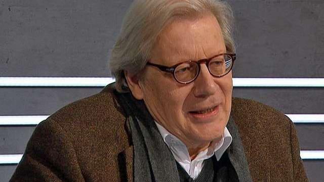 Georg Kohler mit Brille.