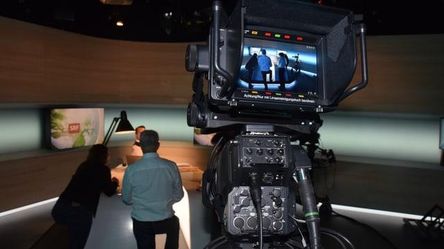 Studio mit Studiokamera