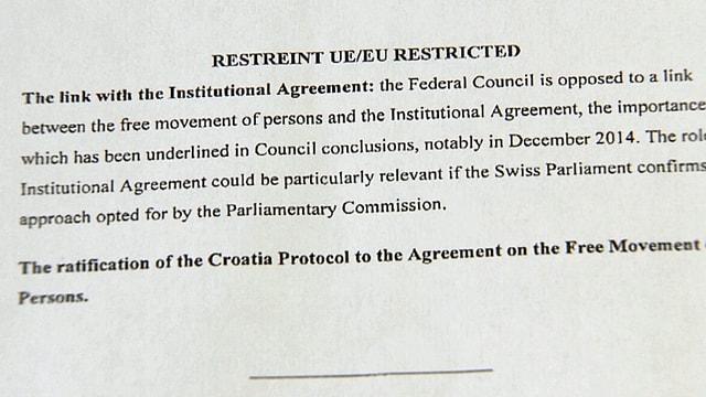 Ausschnitt aus dem EU-Dokument.