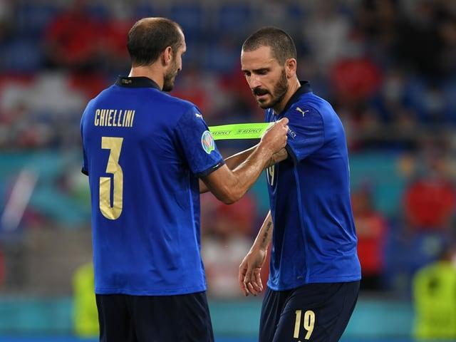 Chiellini und Bonucci