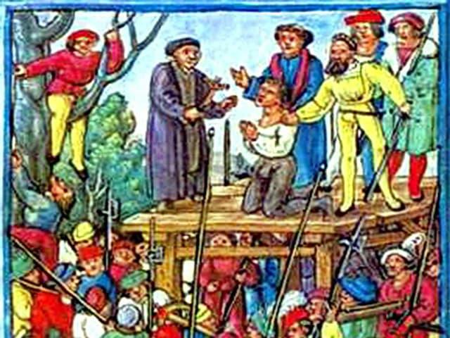 Hinrichtung von Hans Waldmann