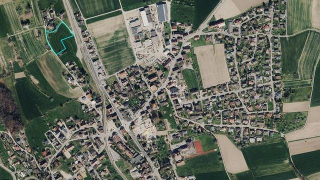 Hallwil und das Gebiet «Weid».