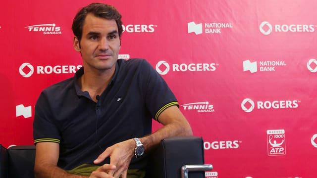 Roger Federer in Toronto