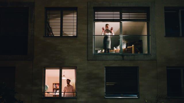 Blick in unterschiedliche Wohnungen