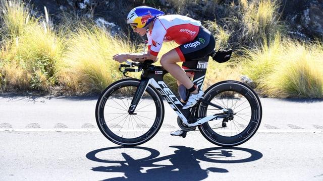 Daniela Ryf überlässt euch ihr Fahrrad.