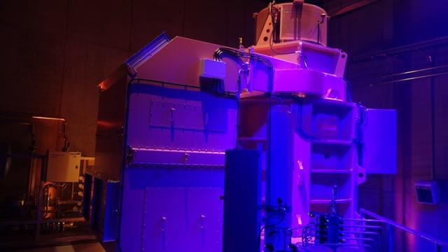 Per il di da las portas avertas da sonda proxima, è la turbina vegnida inscenada cun glischs.