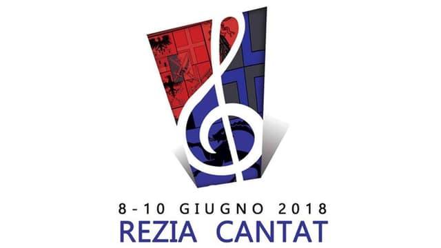 Il logo da Rezia Cantat 2018.